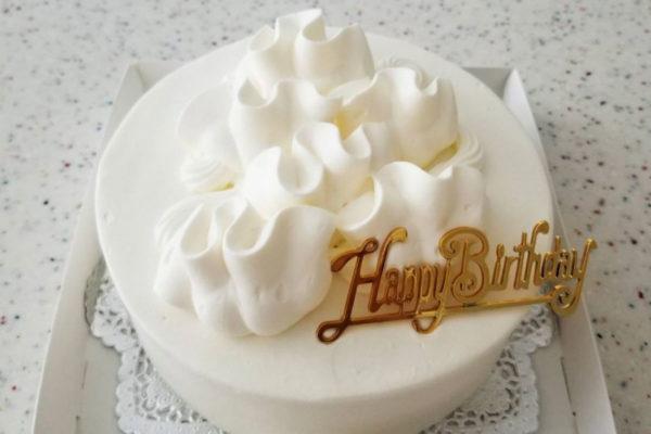 冬のケーキ